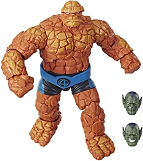 Marvel Legends Series Fantastic Four 6-inch Collectible Action Figure Marvel�s Thing Toy, Premium Design, 1 Accessory 2 Build-A-Figure Parts