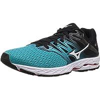 Mizuno Women's Wave Shadow 2 Running Shoe (Black/Trade Winds)