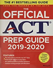 Download Book The Official ACT Prep Guide 2019-2020, (Book + 5 Practice Tests + Bonus Online Content) PDF