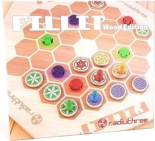 ラディアスリー FILLIT Wood Edition (フィリットウッドエディション) (2-4人用 10-20分 8才以上向け) ボードゲーム