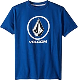 Volcom Kids Crisp Stone Short Sleeve Tee (Big Kids)