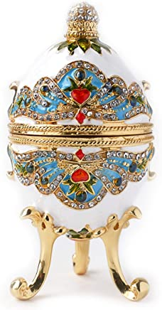 Image of Royal White Collectible Faberge Egg