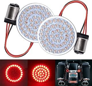 LX-LIGHT Pair 2 Bullet Style Front LED Turn Signal Light Running Light Kit for Honda Yamaha Motorcycles