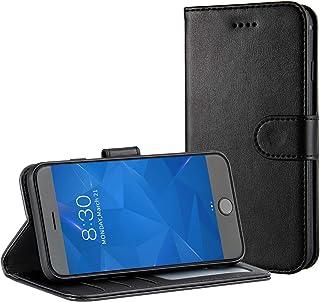 Magn/étique Portefeuille Coque avec Fonction Support pour Samsung Galaxy A7 2018 Bear Village/® Papillon en Relief /Étui en PU Cuir #1 Vert Coque Galaxy A7 2018
