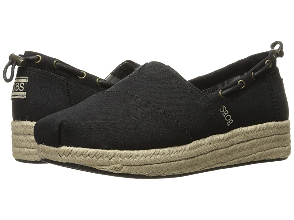 BOBS from SKECHERS Highlights Set Sail (Black) Women