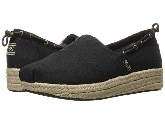 BOBS from SKECHERS Highlights - Set Sail (Black) Women's Flat Shoes