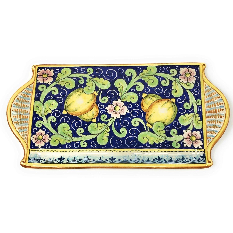San Francisco Mall CERAMICHE D'ARTE PARRINI - Italian Cheese Manufacturer OFFicial shop Tray Art Plate Ceramic