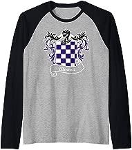 Alvarez Coat of Arms surname last name family crest Raglan Baseball Tee