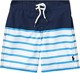 Polo Ralph Lauren Kids - Sanibel Striped Swim Trunks (Toddler)
