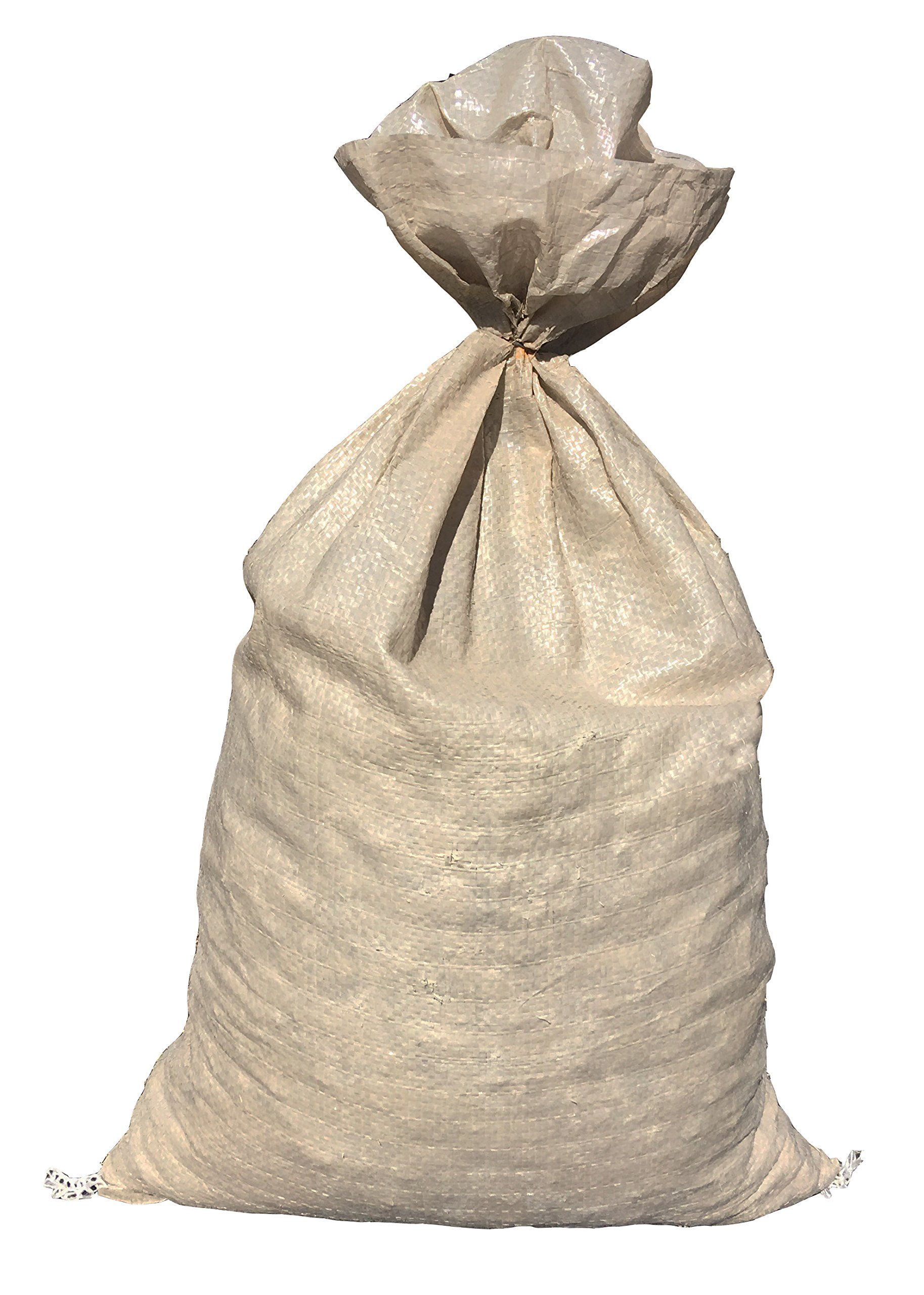 Filled Sandbags Size 14 X 26 Color Beige Sand Bag Flood Water Barrier Store Bags By Sandbaggy 1000 Amazon Com