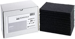 Sungold Abrasives 40110 6 PSA Stickyback Grey Silicon Carbide Stearated Non-Loading Discs