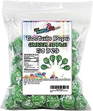 Tootsie Pops Green Apple, 50 Pieces