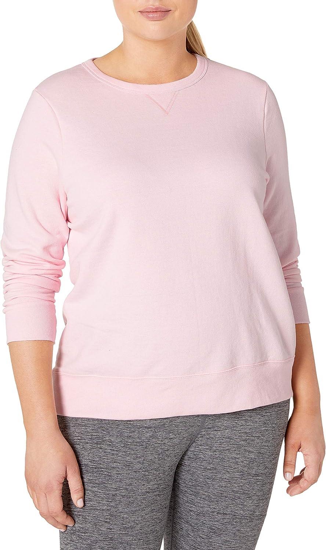 Just My Size Women's Plus-Size EcoSmart Sweatshirt with V-Notch