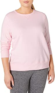 Just My Size Women's Plus V-Notch Sweatshirt