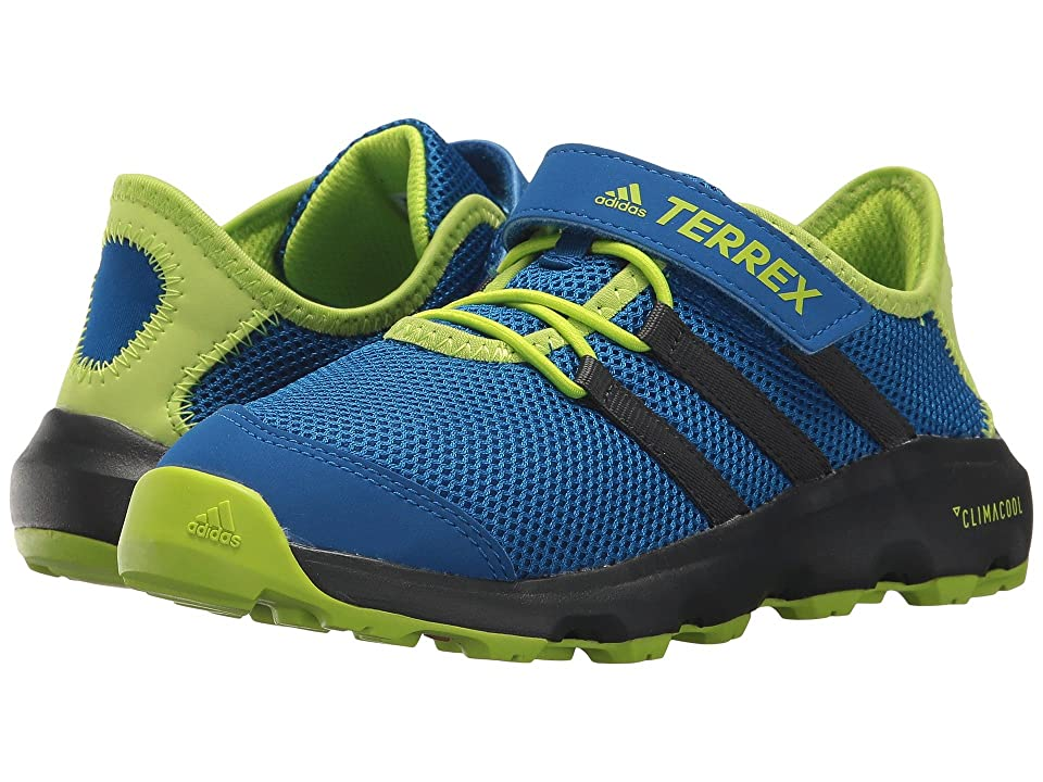 adidas Outdoor Kids Terrex Climacool Voyager CF (Little Kid/Big Kid) (Real Teal/Chalk White/Solar Slime) Boys Shoes
