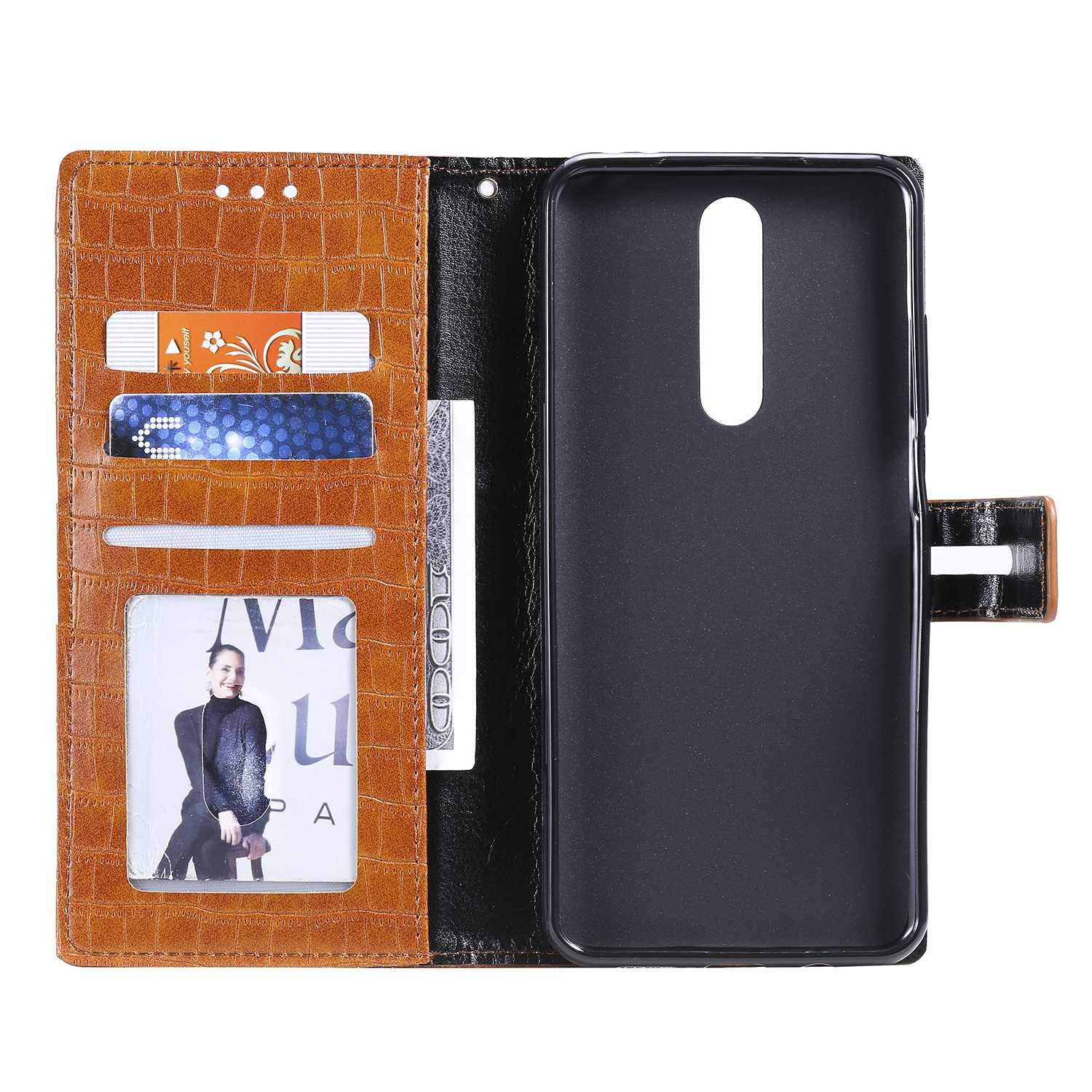 Red The Grafu Shockproof Flip Folio PU Leather Wallet Cover for Xiaomi Redmi Note 8 Xiaomi Redmi Note 8 Case Book Style Case with Card Holder and Magnetic Closure