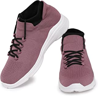 HUMAN HILL Women Sports Stylish and Trendy Gym Running Shoes Purple