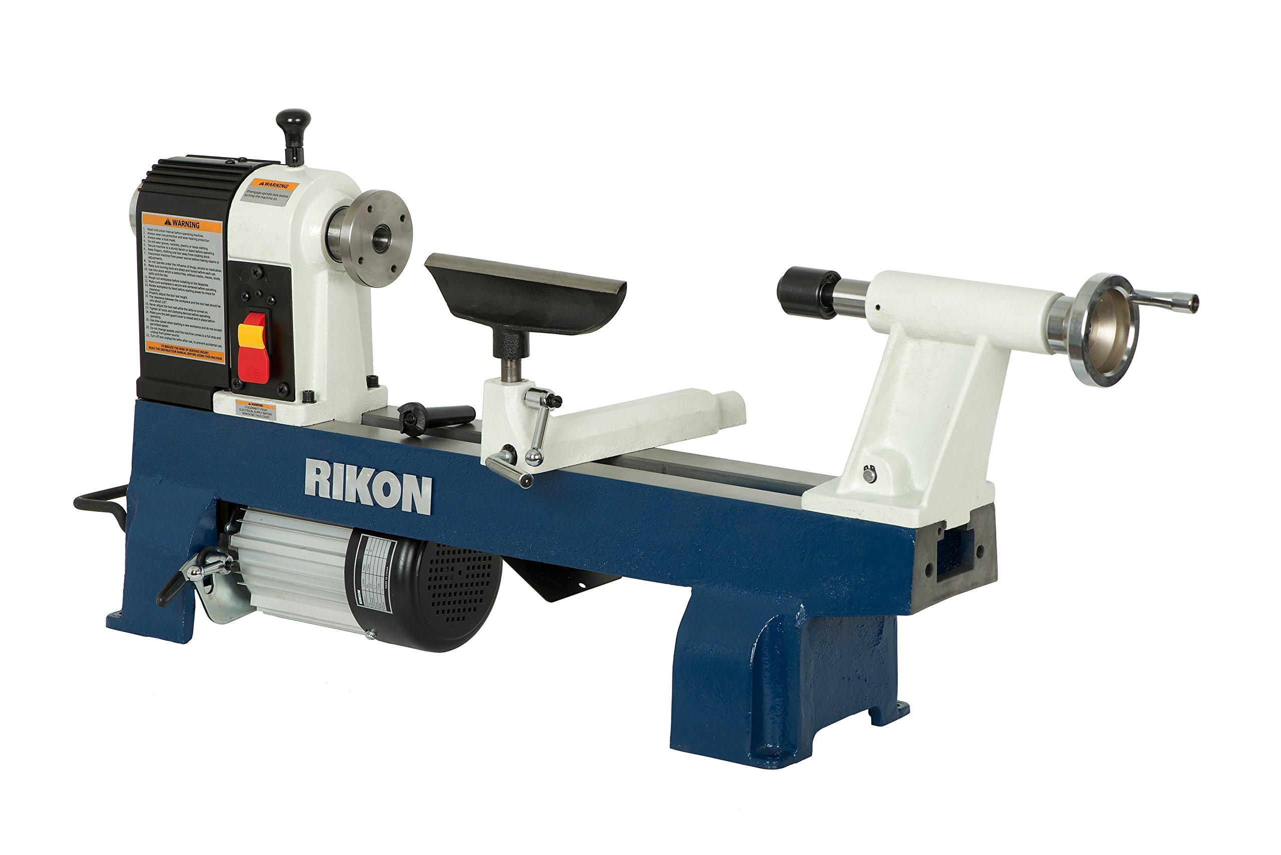 RIKON 70-100 12-by-16-Inch Mini wood Lathe