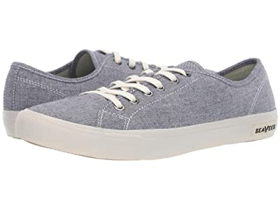 SeaVees Monterey Sneaker Chambray (Navy Chambray) Men