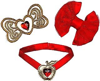 Build a Bear Disney Palace Pets Berry Bunny Red Jeweled Gem 3 pc. Princess Accessory Set