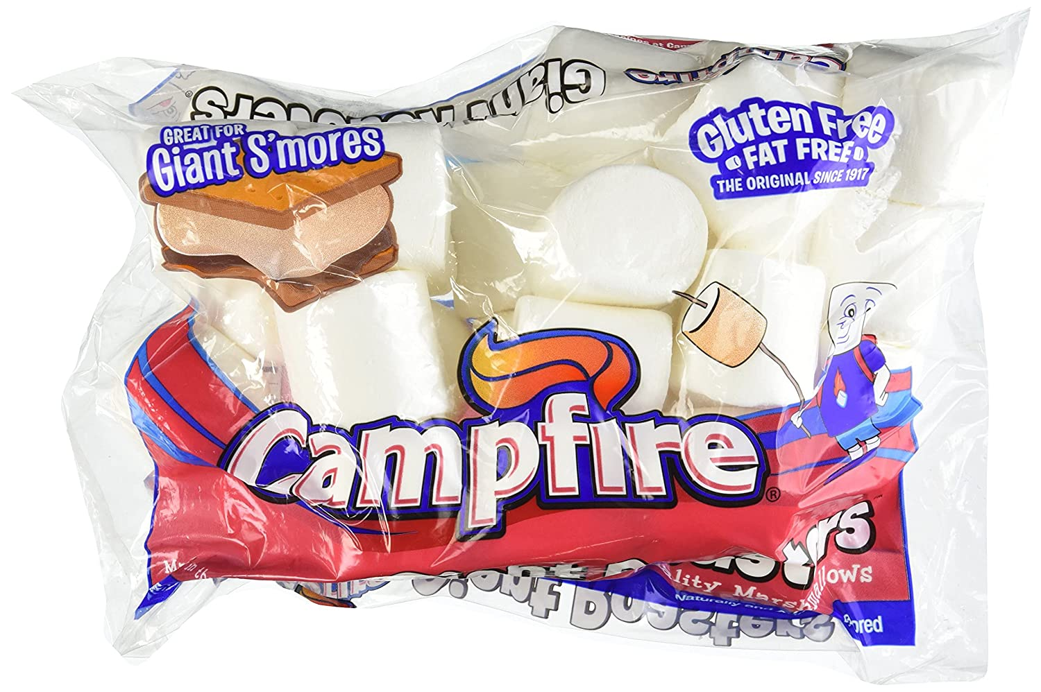 Campfire Premium Extra Import Daily bargain sale Large 2 Bag Marshmallows 28oz Pa Inch