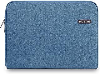 Plemo Fundas para Portatil Tela Vaquera Funda Bolso Sleeve para Ordenador Portátil/MacBook/MacBook Pro/MacBook Air de 13-1...