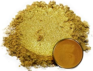 """Eye Candy Mica Powder Pigment """"Kin Gold"""" (25g) Multipurpose DIY Arts and Crafts Additive 