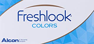 Freshlook Monthly Colour Green (-1.25) - 2 Lens Pack