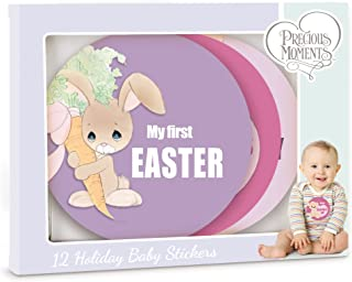 Precious Moments 172425 Baby's Firsts Commemorative Milestones Seasonal Holiday Baby Belly Sticker Set