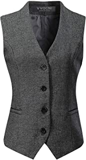 navy suit with gray vest