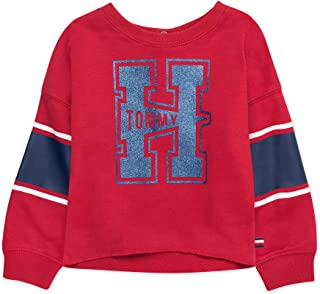 Tommy Hilfiger Baby Girls Long Sleeve Crew Neck Top