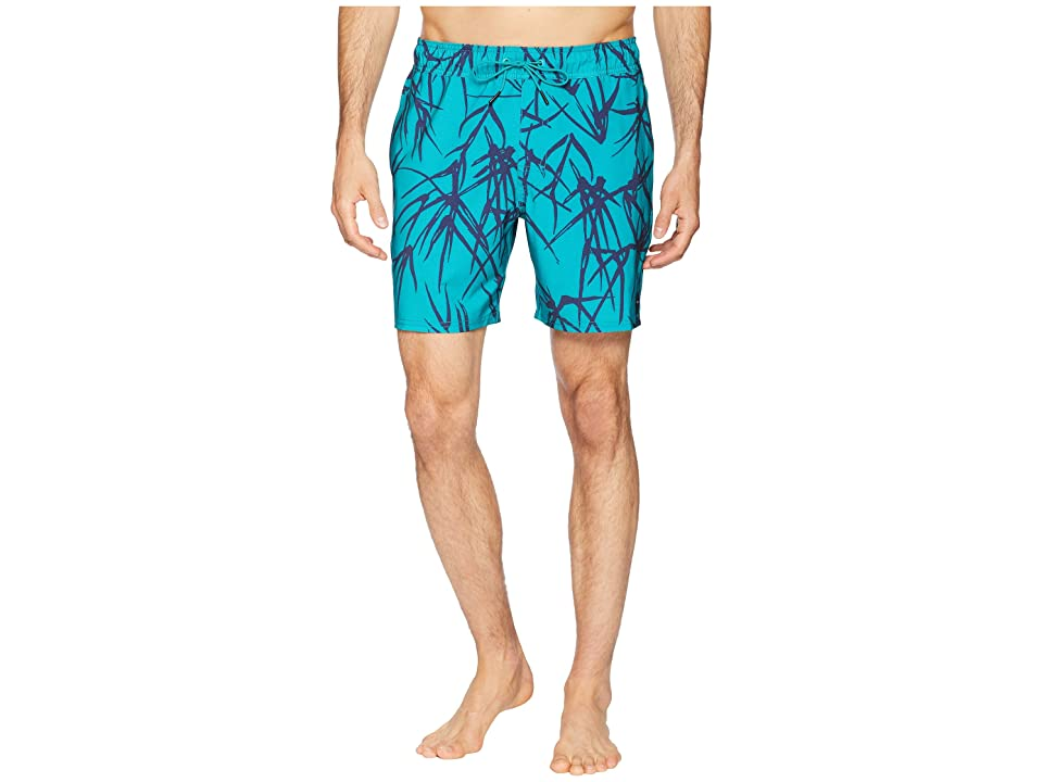 RVCA Miles Elastic Trunk (Light Teal) Men