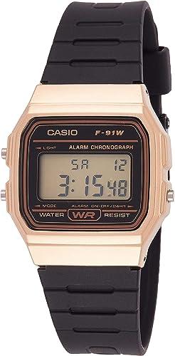 Casio Youth Series Digital Grey Dial Unisex Watch - F-91WM-9ADF(D142)