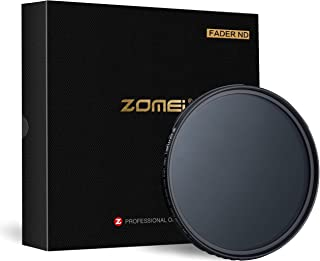 Zomei 82mm 400ayarlanabilir kesici ND Nötr yoğunluk değişken optik disk cam