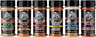 Pit Boss 50612 5 oz Shakers Spices and Rubs (6 Pack)