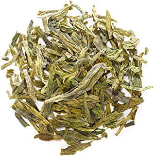Dragon Well Green Tea - Longjing Loose Leaf Tea From China - Xihu Long Jing Chinese Tea - Lung Ching 100g 3.5 Ounce