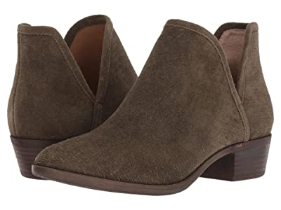 Lucky Brand Baley (Dark Olive Suede) Women