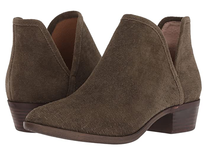 Lucky Brand  Baley (Dark Olive Suede) Womens Shoes