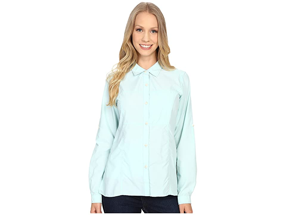 ExOfficio Lightscapetm Long Sleeve Shirt (Tourmaline) Women