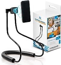 proTechART Magnetic Tablet & Cell Phone Holder, Universal Mobile Stand, 360 Rotating & Adjustable Selfie Mount, Flexible & Portable Gooseneck Holder, Lazy Neck Bracket for Desk Table Bed Bike & Car