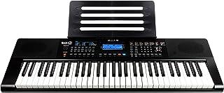 RockJam RJ461AX 61-Key Tastiera digitale portatile Alexa con supporto per musica, alimentatore, app pianoforte semplice e ...