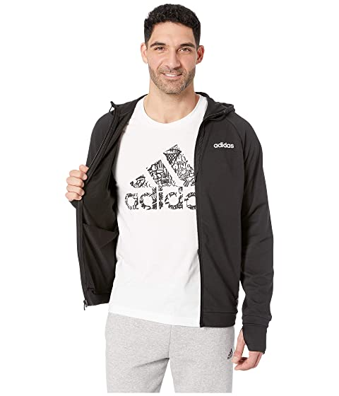 16f94b87d8 adidas Essentials Motion Pack Full-Zip Track Jacket | 6pm
