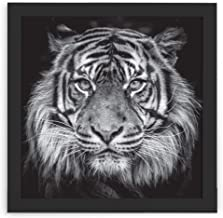 Quadro Decorativo Moldura Slim Preto Design Up Colorido 44x44