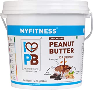 MYFITNESS Chocolate Peanut Butter Crunchy 2.5 kg