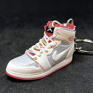 7da910a75412ee Air Jordan I 1 Retro Hare Bugs Bunny WB OG Sneakers Shoes 3D Keychain  Figure 1