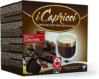 Gourmet Italian Hot Chocolate Capsules compatible with all Original Line Nespresso Machines, from Caffe Bonini, 50 Count (Cioccolato - Chocolate)