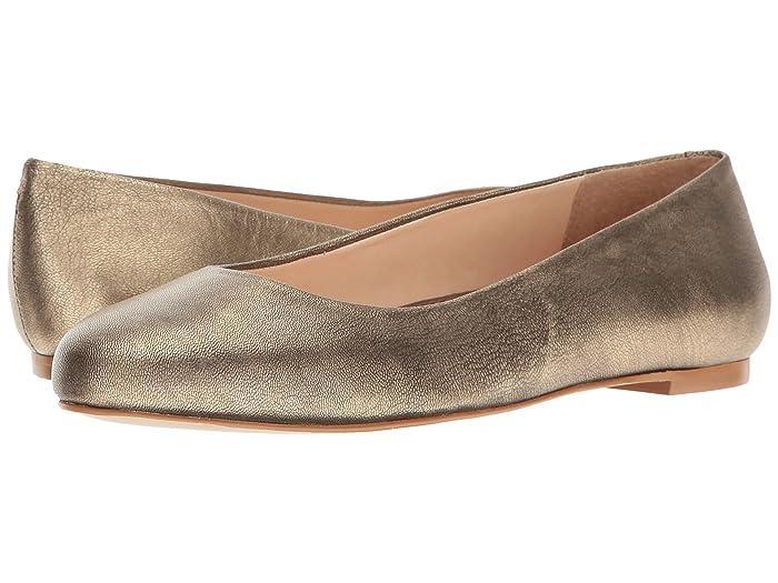 Walking Cradles  Bronwyn (Old Gold Antique Metallic) Womens Flat Shoes