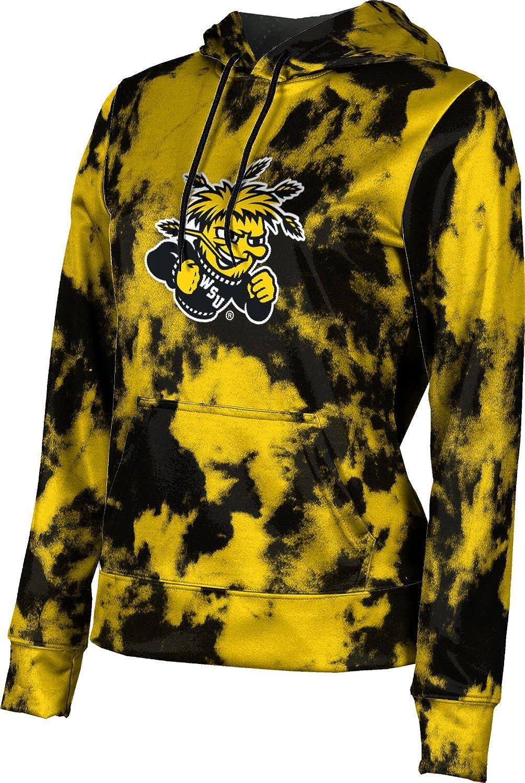 ProSphere Wichita State University Girls' Pullover Hoodie, School Spirit Sweatshirt (Grunge)