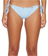Cosita Buena Wavey Tie Side Ruched Full Bikini Bottom