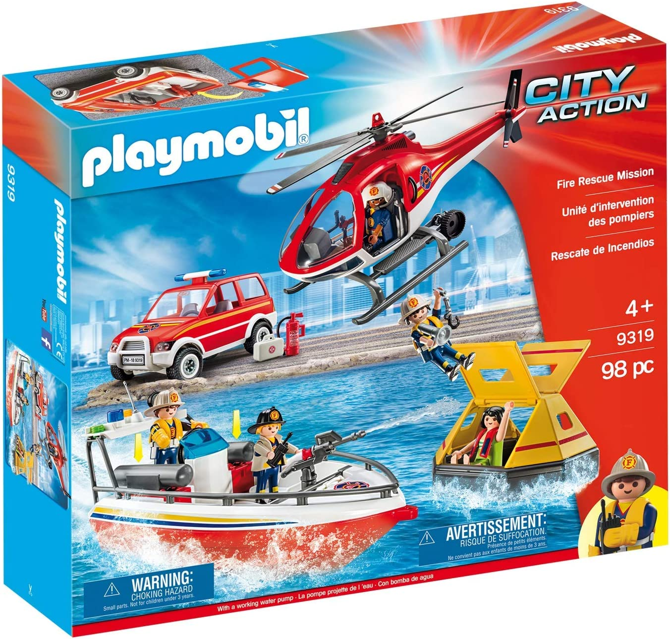 Ranking TOP2 gift Playmobil Fire Rescue Amazon Mission Exclusive